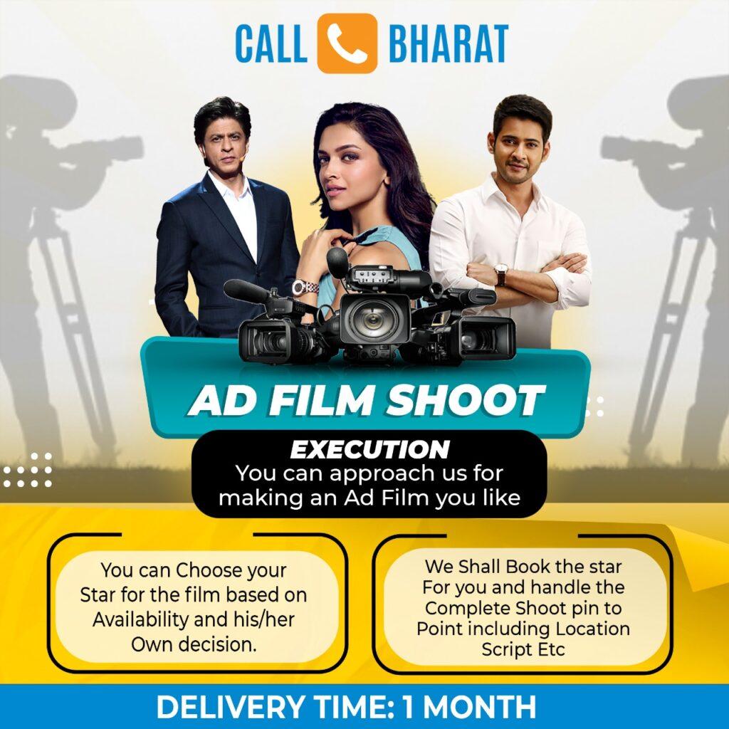 ad film shoot