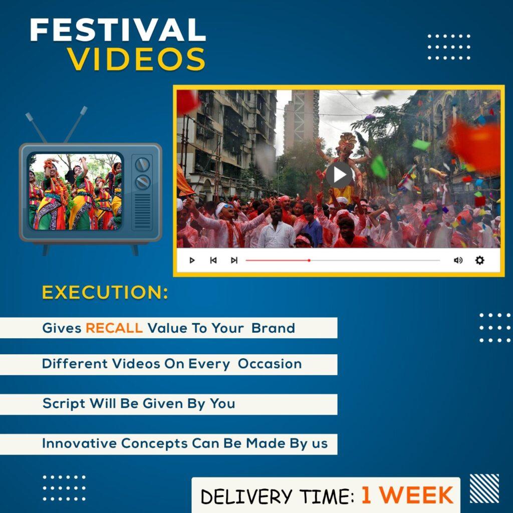 festival videos ads